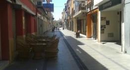 Malgrat renova la zona de vianants del carrer de Mar i Ramon Turró