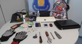 Dos detinguts quan intentaven roar a casa d'un agent dels Mossos d'Esquadra