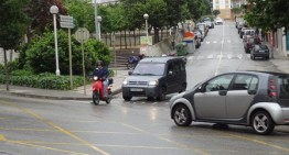 Dos ferits lleus en un accident de moto al veïnat de Ca la Guidó de Blanes