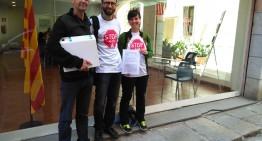 Presenten a la Generalitat les al·legacions al projecte de prolongació de la C32