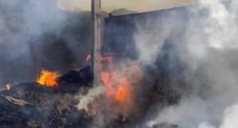 Ensurt a Todera per un incendi en el paller d'una finca aquest dimecres