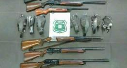 Denunciats cinc caçadors per actuar en una zona de seguretat a Blanes
