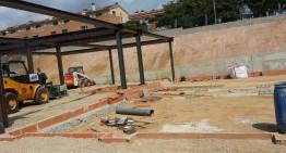 Avancen a bon ritme les obres del nou institut de Tordera