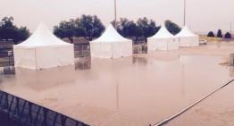 La pluja obliga a cancel·lar gran part dels actes festius a Palafolls i rodalies