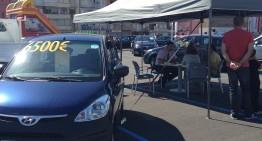 Es venen una 50a de cotxes en l'última fira del Vehicle d'ocasió de Blanes