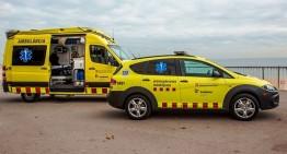 Els treballadors de les ambulàncies tallaran demà la N-II entre Tordera i Blanes
