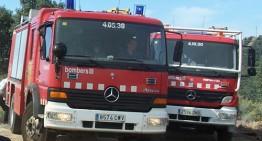 Una dona morta i un ferit en un incendi a Tordera