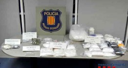 Dos detinguts per tràfic de drogues a Blanes