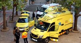 Vaga d'ambulàncies amb alts serveis mínims
