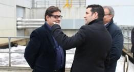 Pineda demana a la Generalitat que completi les obres de la Depuradora de l'Alt Maresme
