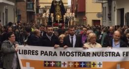 Els legionaris desfilen a Palafolls, tot i la prohibició de l'Ajuntament