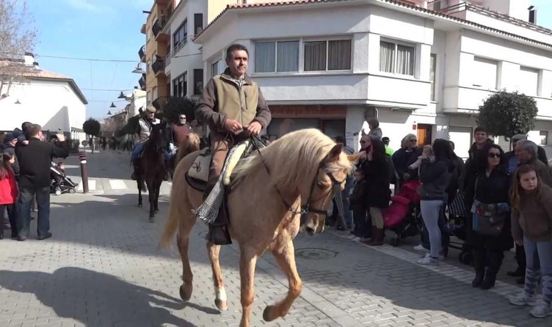 Una 60a de cavalls participaran diumenge dels tres tombs de PLF