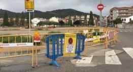 Comencen els treballs per arranjar l'estacionament proper a l'antic camp de futbol de Malgrat