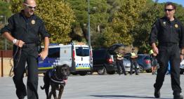 La unitat canina de la Policia Local de Malgrat de Mar patrullarà cada dia a la població