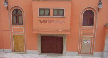 El teatre està tancat des de fa anys per reformes.