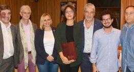 Blanes i Lloret homenatgen l'escriptora finalista del Premi Planeta 2016