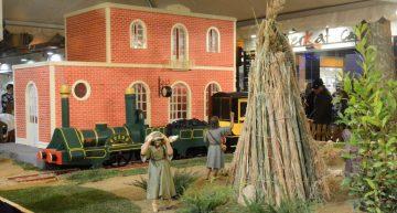 L'Estació de Tren, protagonista al el Pessebre Monumental