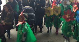 Les escoles de Palafolls comencen la setmana de Carnestoltes