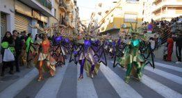Més de mil participants a la Rua de Carnestoltes de Blanes