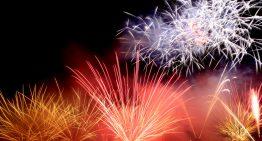 Comença el Concurs Internacional de Focs de Blanes