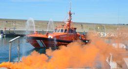 Simulacre d'incendi en una embarcació d'esbarjo al port de Blanes