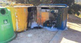 Un terç dels incendis de St Lluís segueixen el patró del contenidor