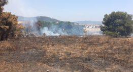 Nou incendi a la mateixa finca que el diumenge passat