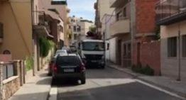 L'Ajuntament denuncia la infracció del camió d'escombraries