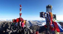 Els Maduixots aixequen el primer pilar a la Pica d'Estats