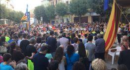 """Nova concentració a Palafolls per demanar la llibertat dels """"presos polítics"""""""