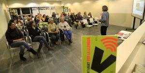 La 18a campanya del Voluntariat per la Llengua de Blanes es va presentar ahir dilluns - (Ajuntament de Blanes)