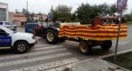L'Ajuntament i la Policia local de PLF emeten un comunicat sobre la multa al pagès l'1-O