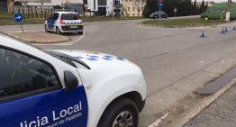 La Policia de Palafolls, entre les que més sancions van posar per drogues a la campanya de Nadal