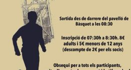 Torna la Marxa Popular Miralles, ara de la mà del Club Esportiu Tordera