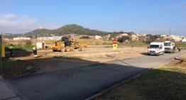 Avui es tanca l'aparcament de Pau Casals per rematar les obres