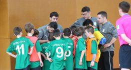 Un jugador del Sant Lluís de Futbol Sala a la selecció catalana benjamí