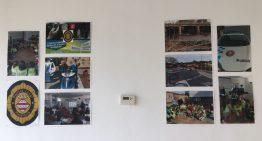 El MiD acull una exposició de fotos de la tasca policial de l'any passat