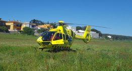 Un infart obliga a activar l'helicòpter del SEM a Palafolls