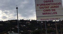 Insatisfacció a Ciutat Jardí amb les obres d'urbanització
