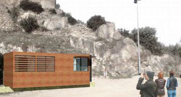 Creació d'un espai amb lavabos, taquilla de control, màquines de begudes i petit magatzem