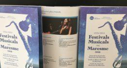 Palafolls acollirà la presentació de la Guia dels Festivals Musicals del Maresme 2018