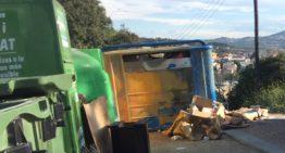 Poques consultes al telèfon i al mail sobre la recollida de residus una setmana després de posar-se en marxa