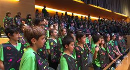 Les Ferreries participa per primer cop al projecte Cantània