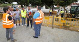 S'inicien els treballs previs per la construcció de la nova rotonda de Ca la Guidó, a Blanes