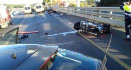 Llibertat provisional per la conductora causant de l'accident amb dos motoristes palafollencs ferits greus