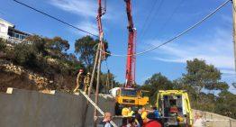 Dos ferits greus en un incident durant uns treballs a Ciutat Jardí