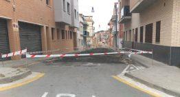 Les obres del carrer Folch i Torres inicien la segona fase