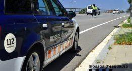 Denuncien un motorista accidentat a Lloret que triplicava la taxa d'alcoholèmia permesa