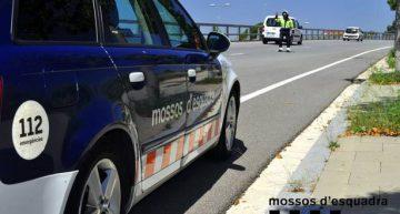 Denunciat un conductor palafollenc per excés de velocitat i triplicar la taxa d'alcoholèmia