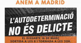 Una 30a de palafollencs participaran demà a la manifestació de Madrid